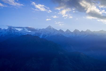 Sunrise at Khaliya Top, Munsyari - Uttrakhand