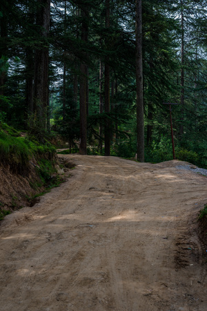Photo of Off-Road in Himalayas, Great Himalayan National Park, Sainj Valley, Himachal Pradesh, India Zdjęcie Seryjne