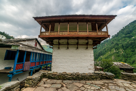 Photo of Old Temple in Himalayas, Himachal Pradesh, India