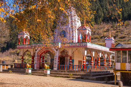 Photo of Shiva temple in himalayas - India -