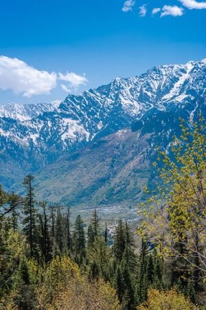 Photo of Colorful landscape with high Himalayan mountains 写真素材