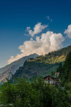 Photo of Himalayan Village Surrounded by Apple Tree - Himachal Reklamní fotografie
