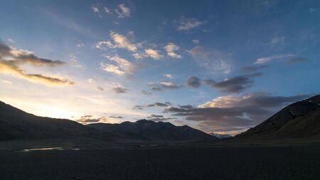 Sunrise in Ladakh - More Plane in Himalaya