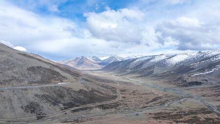 Landscape of Ladakh - Desert in India Stock fotó - 132615972