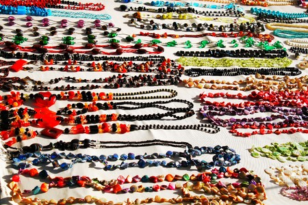 different neck beads on the market photo