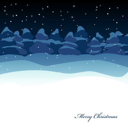 Vector picture of Xmas greeting card Stock Vector - 8196615