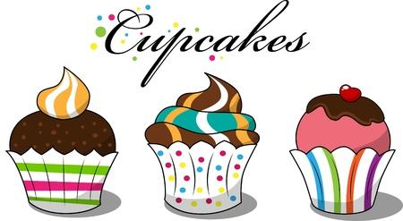 afbeelding met 3 cupcakes
