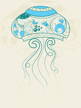 bizarre jellyfish