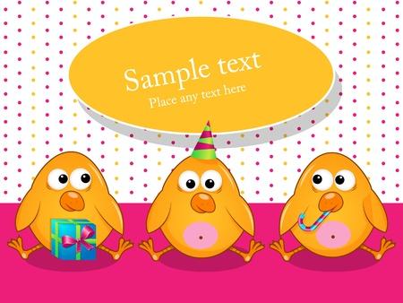 poult: Vectores de tarjetas de felicitaci�n con pavos