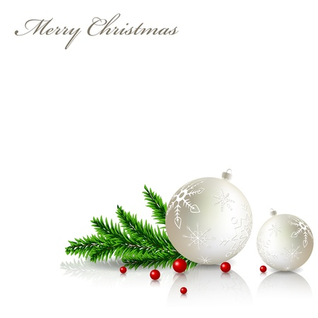 Christmas greeting card Stock Vector - 10909624
