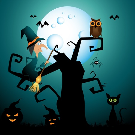 halloween picture Stock Vector - 11005025