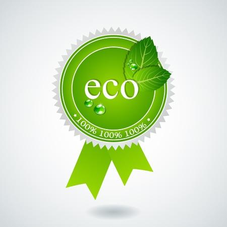 eco medal Stock Vector - 11005027