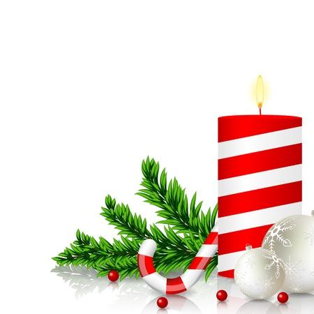 Vector christmas greeting card Stock Vector - 11084399