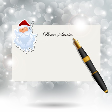 dear: Letter to Santa Claus