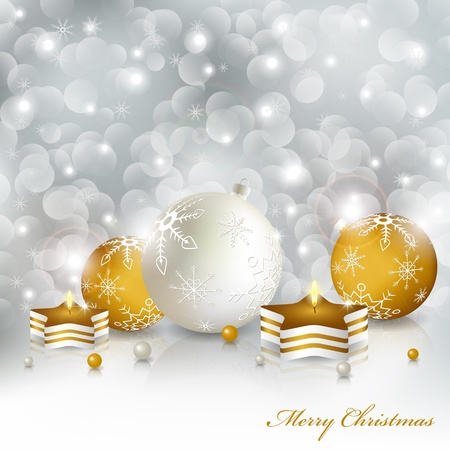 Vector christmas greeting card Vector