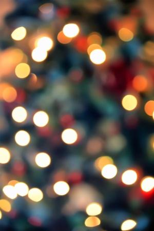 blink: Unfocused Christmas tree photo