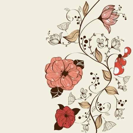 design floral: floral background design