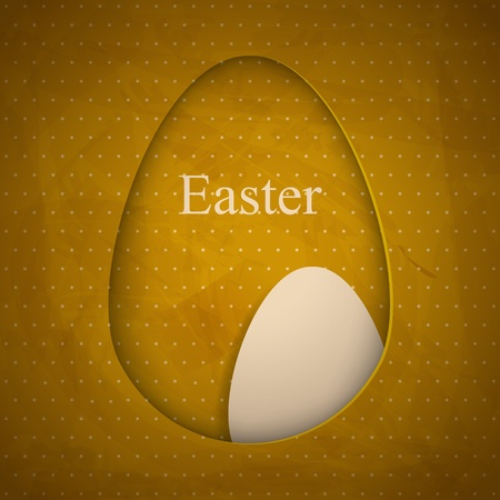Creative Easter greeting card Vector