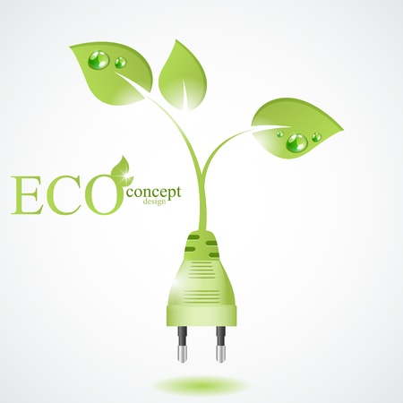 green energy: Eco concept design