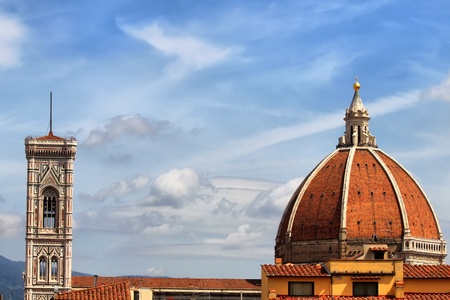 Belfry of Santa Maria del Fiore, Florence, Italy Stock Photo - 14397265