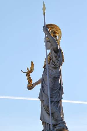 pallas: Pallas Athena in front of the Austrian Parliament in Vienna