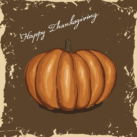 Vector thanksgiving background Ilustracja