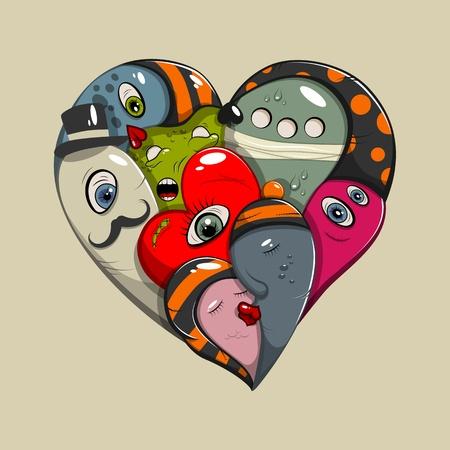 st valentines: St Valentines day greeting card