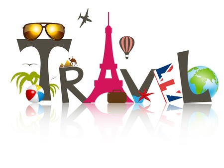 Vector travel business design Vector