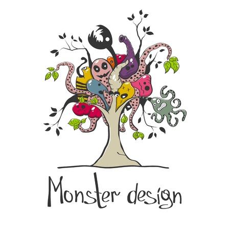 mutant: creative monster tree