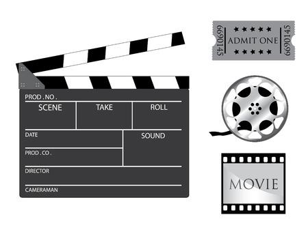 slate film: Film icons