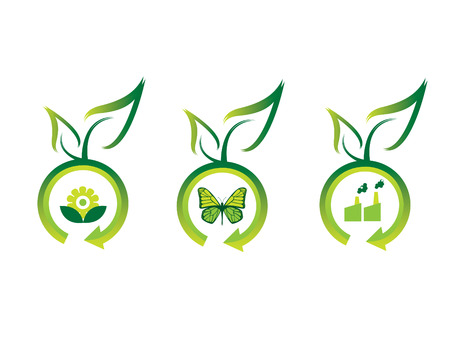 Ecology icons Stock Vector - 3221448