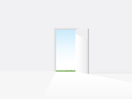 doorframe: Puerta abierta a una nueva vida