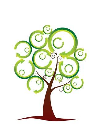 Ecology tree Stock Vector - 3453738