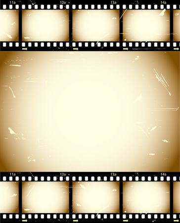rolls: Grunge film series Illustration
