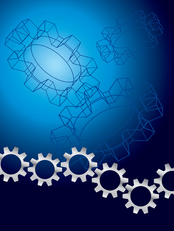 Engineering background Stock Vector - 3516834