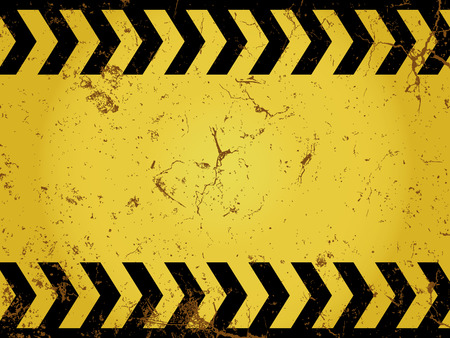 Grunge construction sign Vector