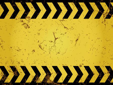 Grunge construction sign