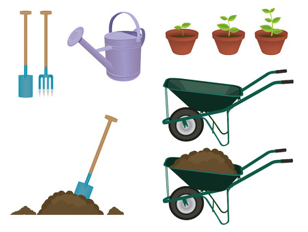 Gardening items Stock Vector - 3575812