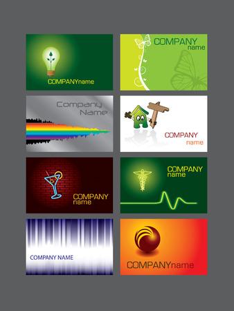 medical logo: Business card series