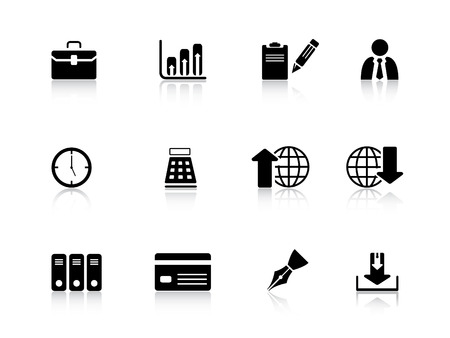 Business icons from series