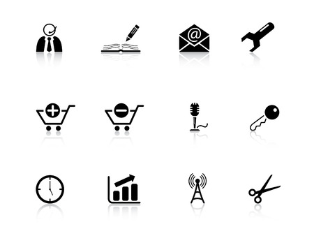 Web icons from series Stock Vector - 3662503