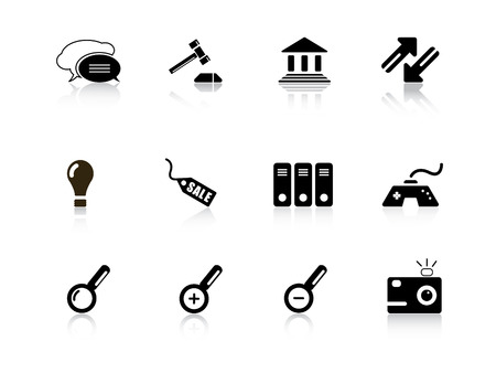 Web icons from series Vector