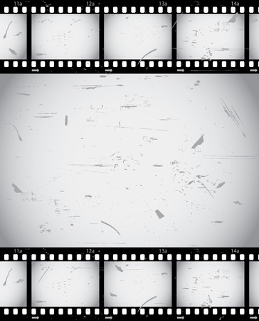 Grunge film border from series Vector