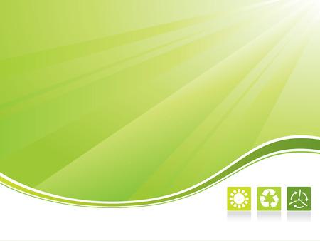 Ecology background Illustration