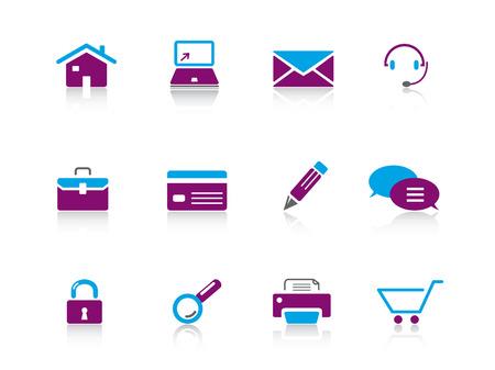 Web icon series 1 Vector