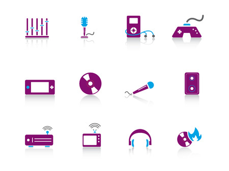 portable radio: Web icono serie 7