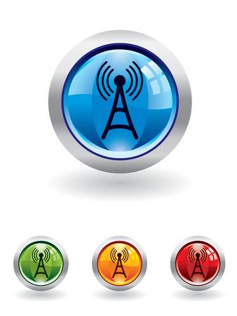 radio button: Comunicazione pulsante serie