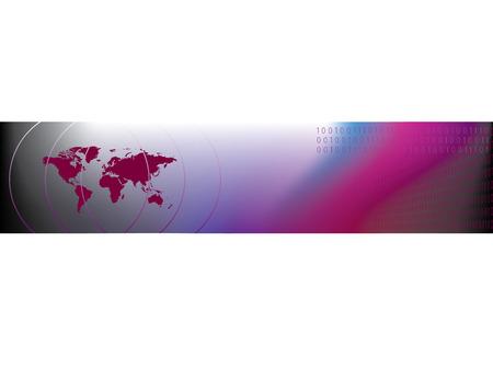 vector banners or headers: Business website header
