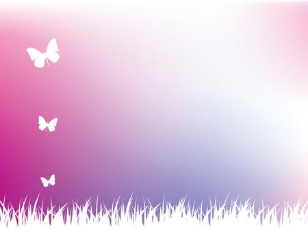 Nature background Illustration