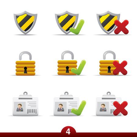negar: Icono de serie - la seguridad